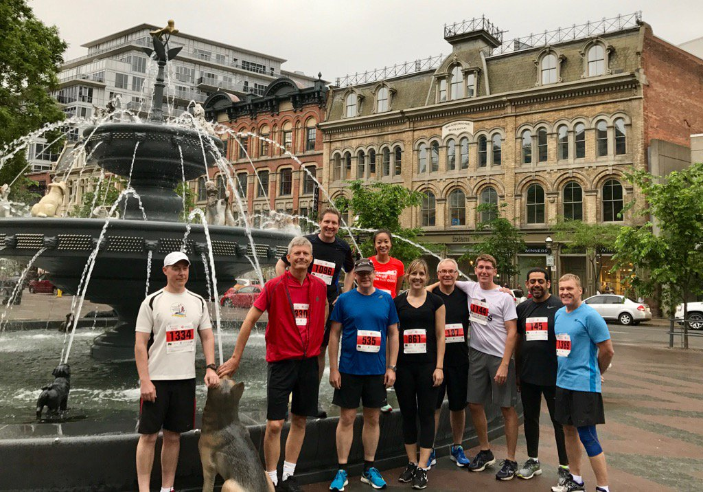 IDC Canada participating in Rat Race 2017